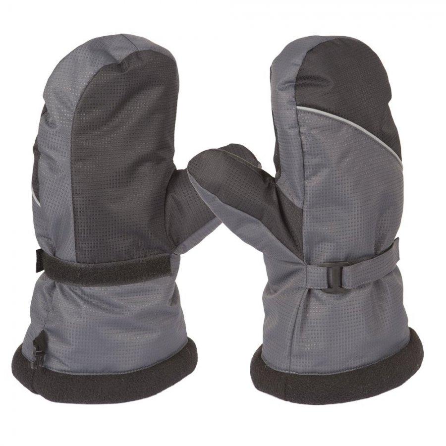 Рукавицы Арктика цвет Серый/Черный ткань Nylon Taslan Dobby