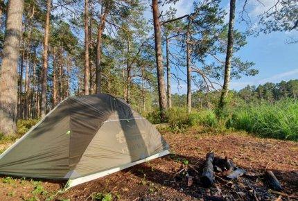 Обзор палатки Tramp Cloud 2 Si от Владимира Чайкина