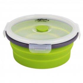 Изображение Tramp стакан силиконовый складной с крышкой 180 мл (оранжевый)