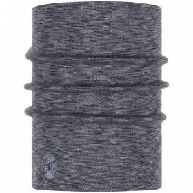 Изображение Buff бандана Heavyweight Merino Wool Fog Grey Multi Stripes