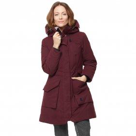 Изображение Bask Пальто женское пуховое VISHERA,  бордовый