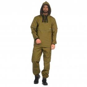 """Изображение Костюм Huntsman """"Антигнус-Люкс"""" с ловушками и пыльниками тк. Палатка (Хаки)"""