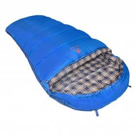 Изображение Спальный мешок BTrace Broad (серый/синий)