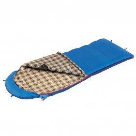 Изображение Спальный мешок BTrace Duvet (серый/синий)
