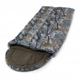 Изображение Huntsman Мешок спальный Аляска ткань Alova -17 (Серый Лес)
