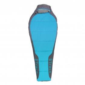 Изображение Спальный мешок BTrace Swelter S size Левый (серый/синий)