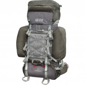 Изображение Рюкзак экспедиционный Абакан 120 V2 (Серый/олива)