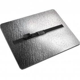 Изображение Сиденье туристическое Decor Металлик, с карабином 18 мм (Серый)