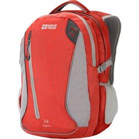 Изображение Агент 34 рюкзак городской (Серый/красный)