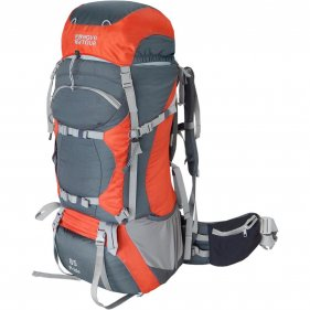 Изображение Прайд 85 рюкзак экспедиционный (Серый/терракотовый)