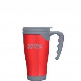 Изображение Сильвер 400 термокружка (Красный/Серый)