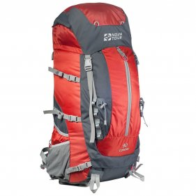 Изображение Кондор 90 рюкзак туристический (Серый/терракотовый)