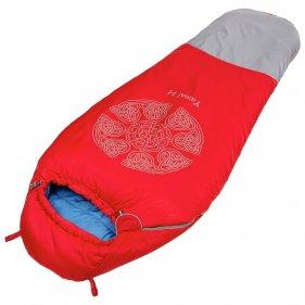 Изображение Ямал -30 L V3 Спальный мешок (Красный/светло-серый, Левый)