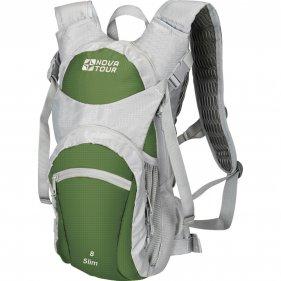 Изображение Рюкзак спортивный Слим 8 (Серый/олива)