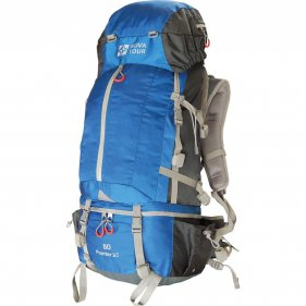 Изображение Рюкзак экспедиционный Пойнтер 80 V2 (Серый/синий)