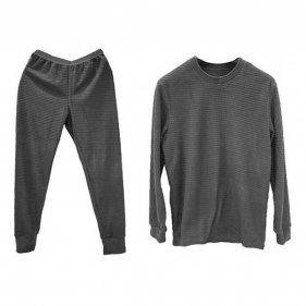 Изображение Tramp термобельё (комплект) Grid Fleece серый