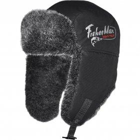 Изображение Fisherman шапка-ушанка Тепор М V2 (чёрный)