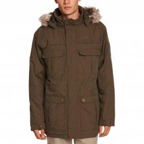 Изображение Regatta куртка мужская Landscape Parka (красно-чёрный)