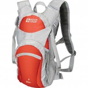 Изображение Рюкзак спортивный Слим 8 (Серый/терракотовый)