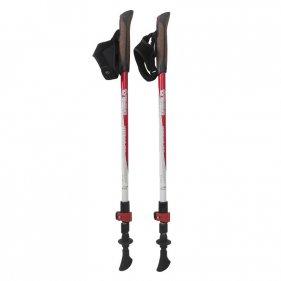 Изображение Tramp палки для скандинавской ходьбы Compact красный-белый