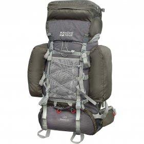 Изображение Рюкзак экспедиционный Абакан 120 V2 (Серый/терракотовый)