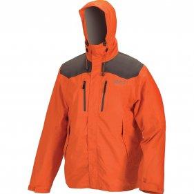 """Изображение Куртка мембранная мужская """"Шторм v.2"""" (Оранжевый/темно-серый, XS)"""
