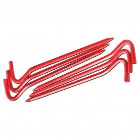 Изображение Комплект колышков шестигранных v2 (Красный металлик)