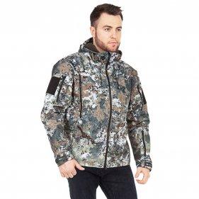 Изображение Куртка демисезонная Камелот цвет Гамма Пиксель ткань Softshell