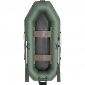 Изображение Лодка гребная ПВХ Лоцман С-260 П (Зеленый)