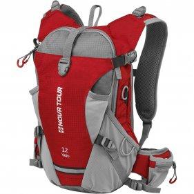 Изображение Вело 12 рюкзак спортивный (Красный/Серый)