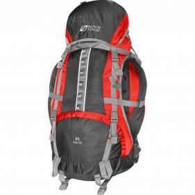 Изображение Альфа 85 V2 рюкзак туристический (Серый/красный, 85)