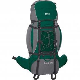 Изображение Рюкзак экспедиционный Тибет 100 N (Серый/зеленый)