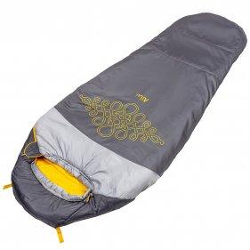 Изображение Алтай -10 L V3 Спальный мешок (Серый/светло-серый, Левый)