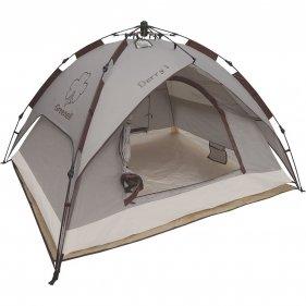 Изображение Палатка с автоматическим каркасом Дерри 3 (Коричневый)