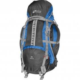 Изображение Альфа 85 V2 рюкзак туристический (Серый/синий, 85)