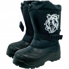 Изображение Бахилы мужские ДЮНА Bear ЭВА 2105 (Черный, 41)