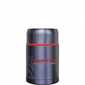 Изображение Капсула 800 термос (Серый/синий)
