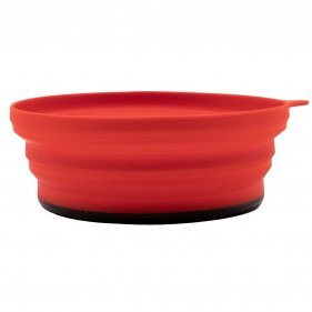 Изображение Tramp тарелка силиконовая с пласт. дном 15*15*8,5