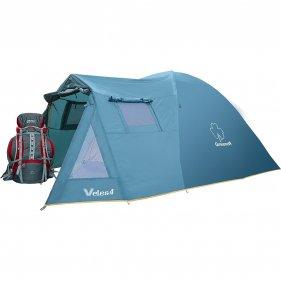 Изображение Велес 4 v.2 палатка (Зеленый)