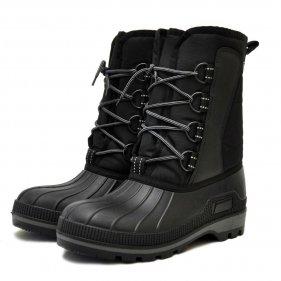 Изображение Сапоги мужские Kraft Nordman (галоша ТЭП, шнурки) (Черный, 41)