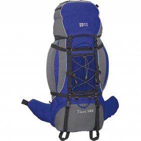 Изображение Рюкзак экспедиционный Тибет 100 N (Серый/электрик блю)