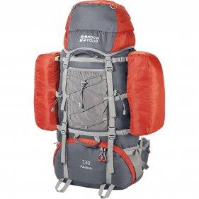 Изображение Абакан 130 рюкзак экспедиционный (Серый/терракотовый)