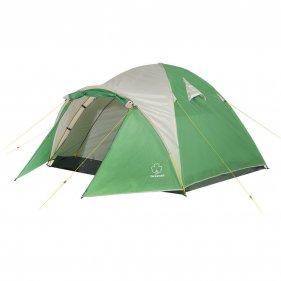Изображение Дом 4 V2 палатка (Зеленый/свет.серый)