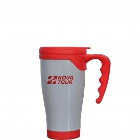 Изображение Сильвер 400 термокружка (Серый/красный)