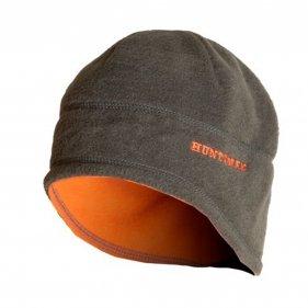 Изображение Шапка зимняя двусторонняя цвет Хаки/Оранжевый ткань Флис