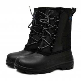 Изображение Сапоги мужские Comfort 053 Nordman (галоша ЭВА, шнурки) (Черный, 41/42)