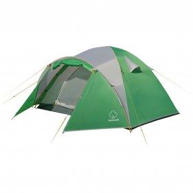 Изображение Дом 2 палатка (Зеленый/свет.серый)