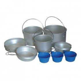 Изображение Tramp набор посуды TRC-002 алюминий