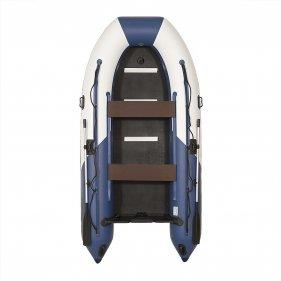 Изображение Лодка моторная ПВХ Лоцман М350 (светло-серый/темно-синий)