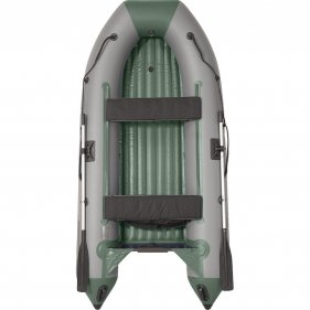Изображение Лодка моторная ПВХ Пилот М-300 НД НД (Серый/зеленый)